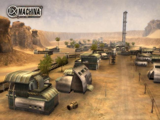 Версии всех игр серии ExMachina с последними обновлениями: Ex Machina.